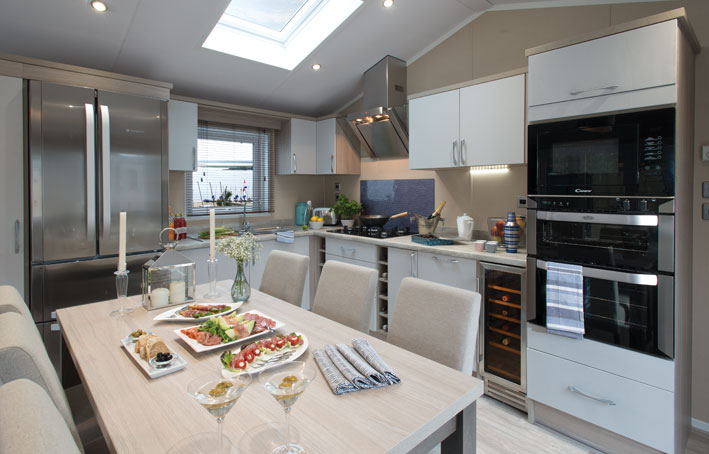Artisan Lodge kitchen