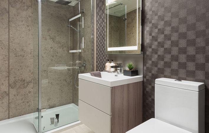 Swift Whistler Lodge Shower Room