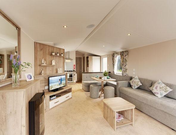 willerby skye lounge kitchen