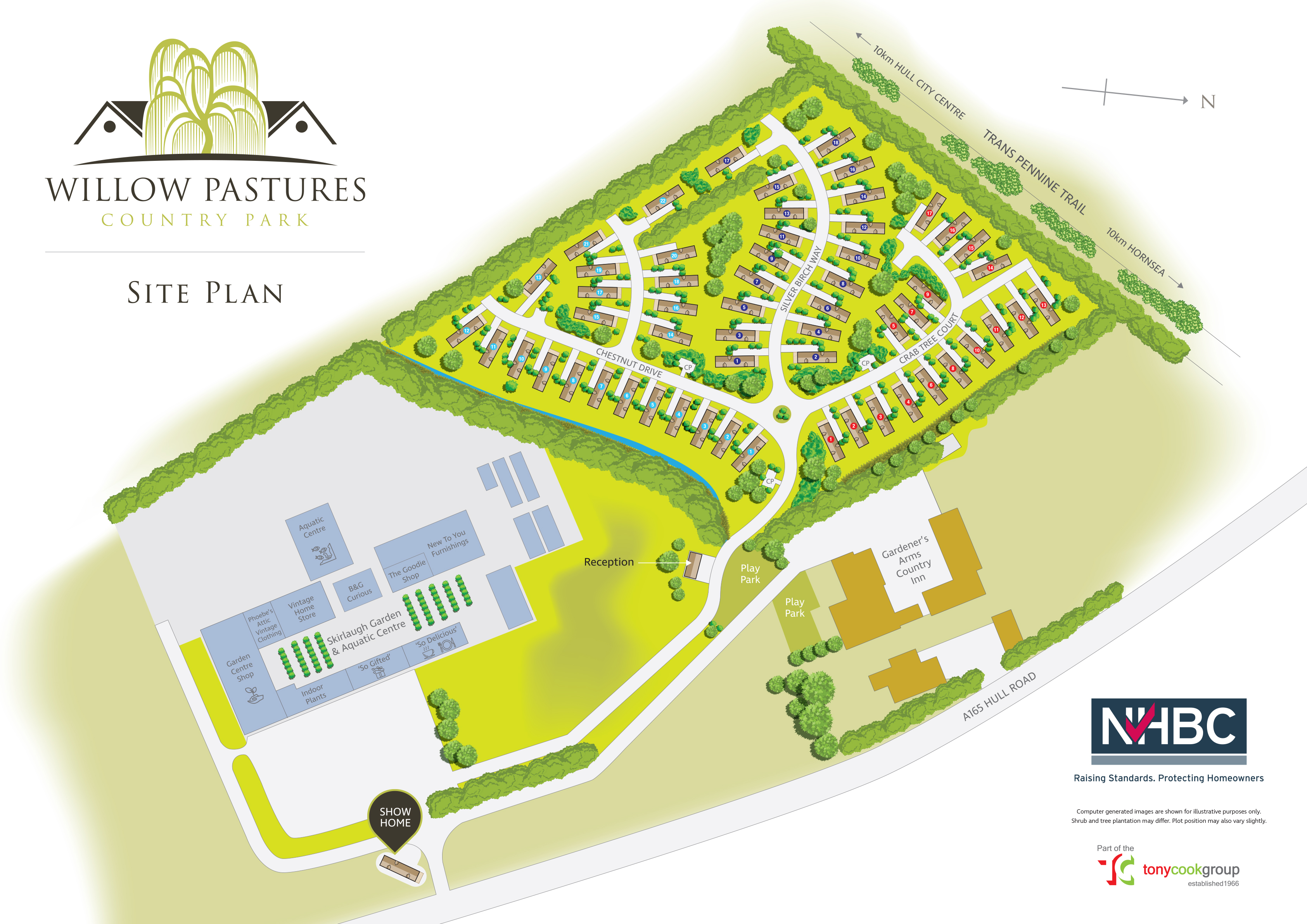 Willow Pastures Plan view