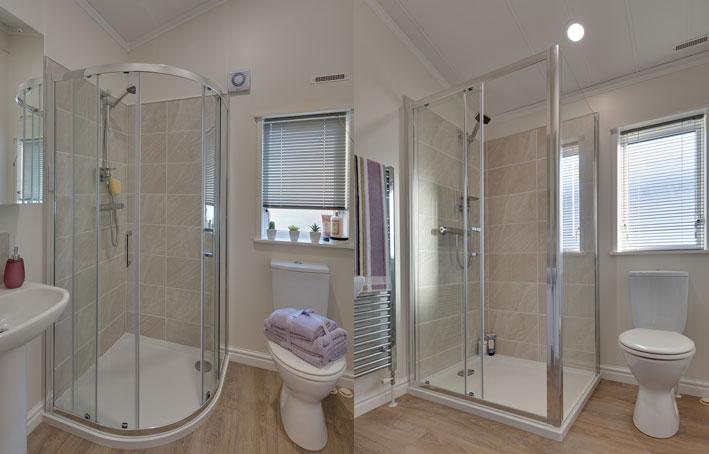 Willerby Juniper showers