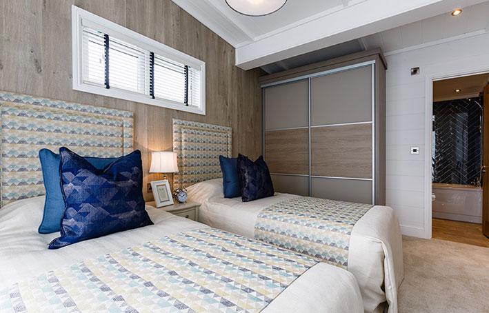 Prestige hampton twin bedroom