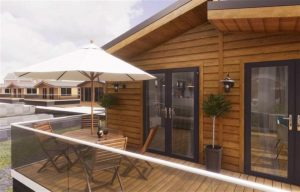 Pathfinder Homes floating lodges