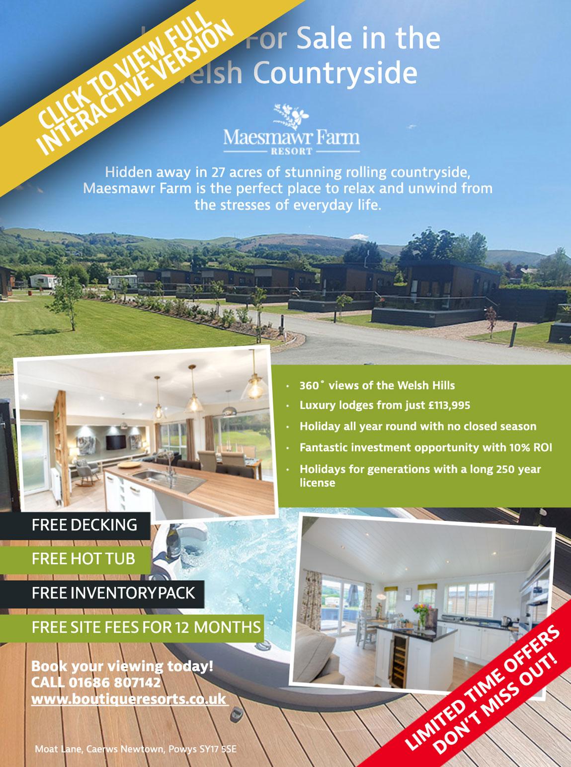 Maesmawr Farm Holiday Home Living Magazine