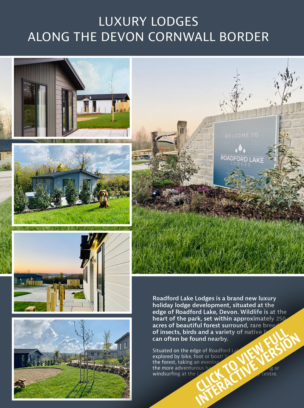 Roadford Lakes Holiday Home Living Magazine Issue 21