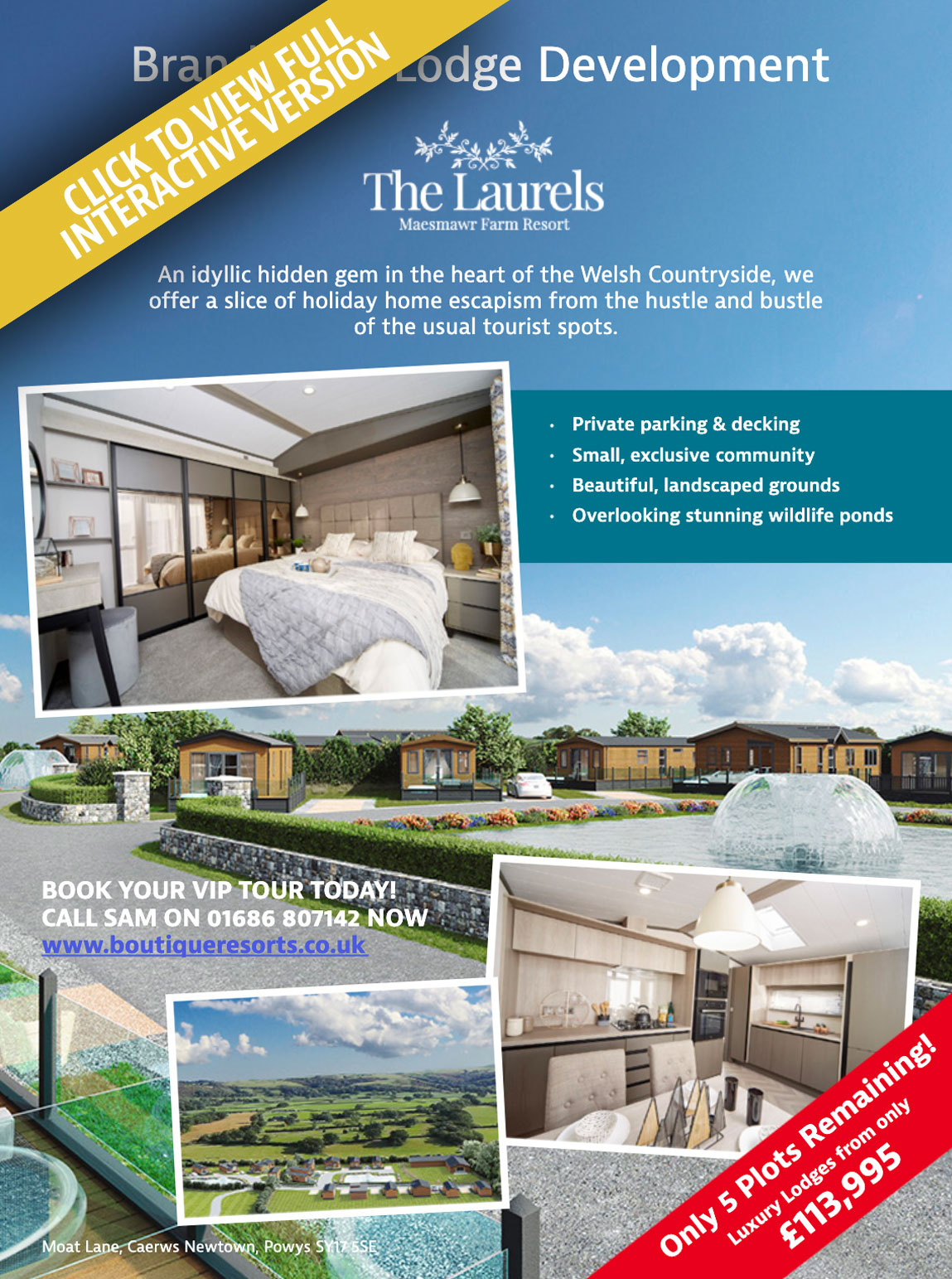 The Laurels Holiday Home Living Magazine